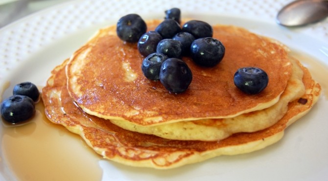 Pancakes al latticello