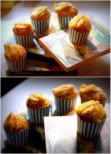 Muffin alla tarte tatin collage blog