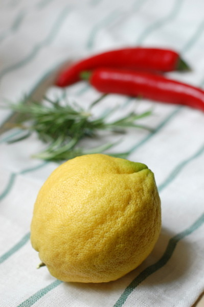 Limoni in conserva ingredienti