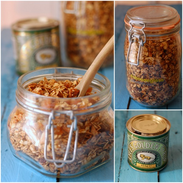 Granola collage